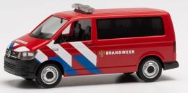 H0 | Herpa 941907 - VW T6 Brandweer nieuwe striping (NL) - 1:87