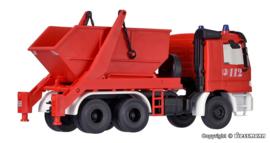 "H0   Kibri 18268 - MB Actros portaalarmwagen ""Feuerwehr"""