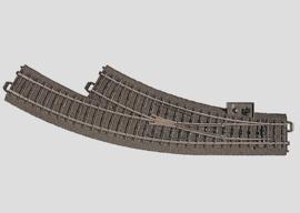 H0 | Märklin 24672 - Bochtwissel rechts R360 mm - 30Gr (C-rail)