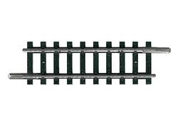 N | Minitrix 14907 - Rechte rail lengte 50 mm.