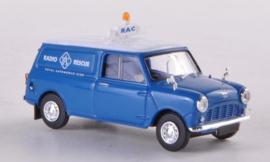 H0 | Brekina 15360 - Austin Mini Van, RAC Radio Rescue (10)