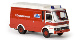 "H0 | Brekina 34515 - Magirus 90 D 6 Kasten ""Brandweer Kerkrade"" (NL)"