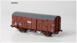 H0   Exact Train EX20905 - NS, Gs-t 1430 Van G&L met bruine luchtroosters