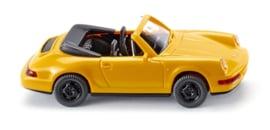 H0   Wiking 016504 - Porsche Carrera Cabrio, geel (1)