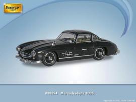 H0 | Ricko 38594 - Mercedes -Benz 300 SL coupé, black, 1954