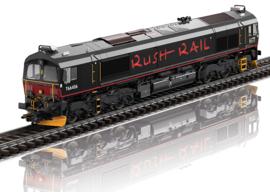 H0   Märklin 39068 - RushRail, Diesellocomotief Class 66