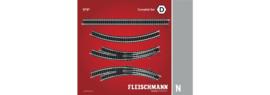 N | Fleischmann 9191 - Track pack D