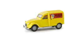H0 | Brekina 14149 - Citroen 2 CV Michelin Scooter