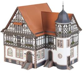 H0 | Faller 191727 - Hoofdpostkantoor Bad Liebenstein