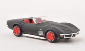 H0 | Brekina 19973 - Chevrolet Corvette C3, mat zwart (10)