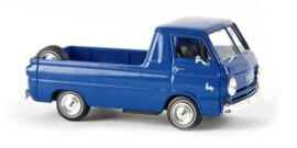 H0 | Brekina 34325 - Dodge A 100 Pick-up, gentian blue.