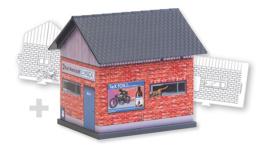 H0 | Faller 150130 - BASIC Workshop, incl. 1 paintable model