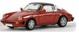 H0 | Brekina 16352 - Porsche 911 Targa, red.