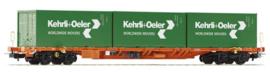 H0 | Piko 54685 - SBB, Containerdraagwagen Sgnss