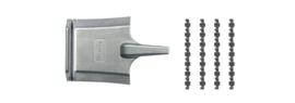 H0 | Roco 61192 - Geïsoleerde railverbinder met gereedschap