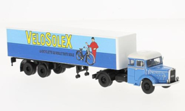 H0 | BoS-Models 87256 - Bernard TD 150, Velosolex, gesloten oplegger