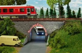 H0 | Faller 120498 - Stone arch bridge