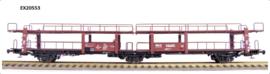 H0 | Exact Train EX20553 - NS Lacs 3-axle car transport wagon