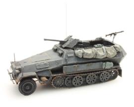 H0 | Artitec 387.111-GR - Sd. Kfz 251/10B 3.7 cm. PAK, grijs