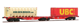 H0 | ACME 40351 -DB AG, Containerwagen Sggrss 80