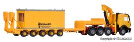 H0 | Kibri 13578 - MB met dieplader en container.