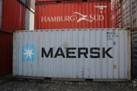 H0 | PT Trains 820003.1 - Container 20' DV MAERSK