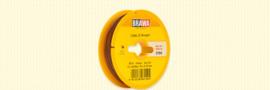 Brawa 3154 - Draad, 0,14 mm², 25mtr, bruin
