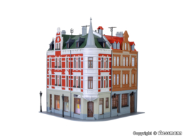 H0 | Kibri 38294 - Corner terrace house Sternplatz