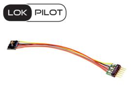 N | Esu 59816 - LokPilot 5 micro DCC/MM/SX, 6-pin NEM651, N, TT