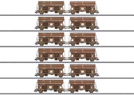 H0 | Märklin 46309 - DSB, Set zwenkdakwagens