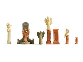 H0   NOCH 14872 - Graven en standbeelden