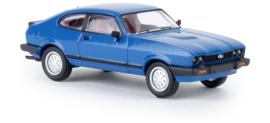 H0   Brekina 19552 - Ford Capri III, blue.