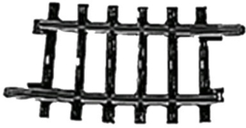 H0 | Märklin 2224 - Gebogen railstuk (K-rail)