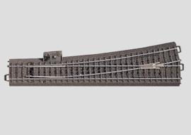H0 | Märklin 24711 - Slanke wissel links R1114,6 mm - 12,1Gr (C-rail)