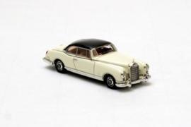 H0 | NEO 87201 - 1955 Mercedes-Benz 300B Pininfarina - Wit/ Zwart