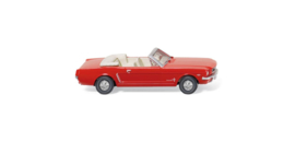 H0   Wiking 020549 - Ford Mustang Cabriolet, rood (1)