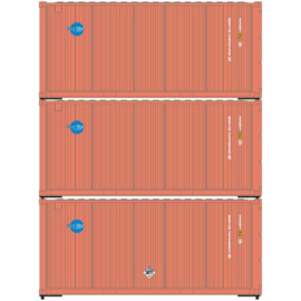 H0 | Athearn ATH28752 - 20' Corrugated Container, Blue Sky (3)