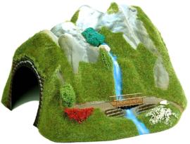 H0 | Busch 3007 - Tunnel met waterval