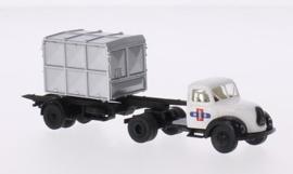 H0   Brekina 42256 - Magirus Mercur, NS (NL), Container-SZ