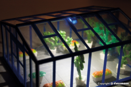 H0 | Kibri 38634 - Tuinkas met verlichting