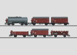 H0 | Märklin 46094 - DRG,Set goederenwagens.