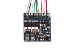 H0 | Esu 54620 - LokPilot Fx V4.0, functiedecoder MM/DCC/SX, 8-pol. Stekker NEM652, Kabelboom
