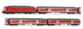 H0   Piko 58133 - DB AG, Treinset,BR 245 + 2 x Bnb + ABnb  (DC)