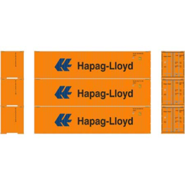 H0 | Athearn ATH27172 - 40' High-Cube Container, Hapag-Lloyd (3)