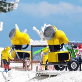 H0 | Busch 1169 - Twee sneeuwkanonnen