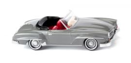 H0   Wiking 025001 - MB 190 SL Cabrio, grijs (1)