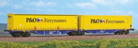 H0 | ACME 40289 - XRail, Containerwagen Sggmrss '90