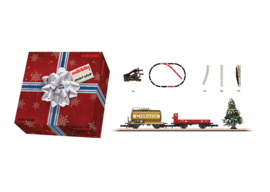 Z | Märklin 82720 - Christmas add-on set. Car set with siding and Christmas tree