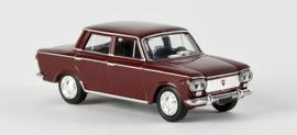 H0 | Brekina 22301 - Fiat 1300 Limousine, wine red.