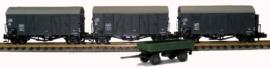 N | Hobbytrain H24603 -CFL freight car set Kkws / Kkwfs